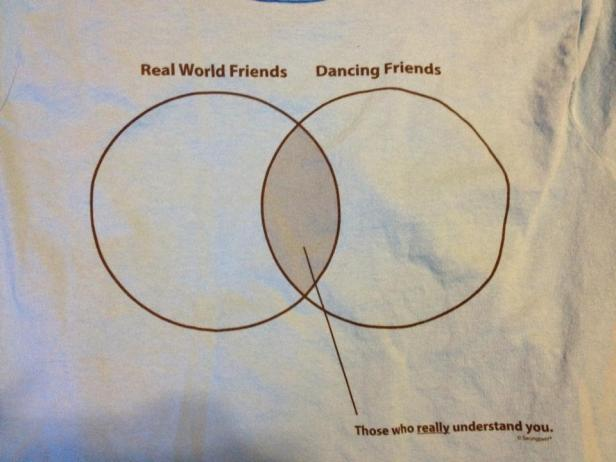 Shirts we had made for Dance Camp this last summer