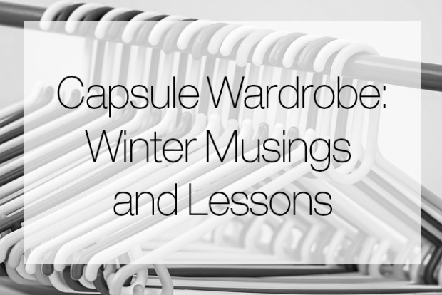 SeeJenDance - Capsule Wardrobe Musings and Lessons