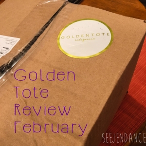 SeeJenDance - Golden Tote Review February