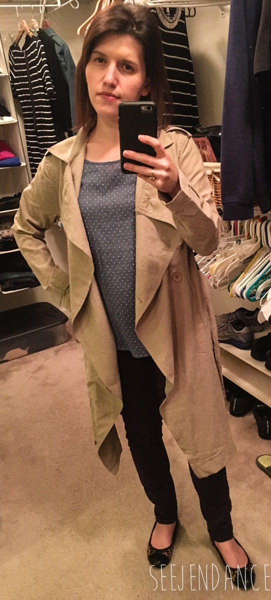 Classic Trench Coat - Golden Tote Review February