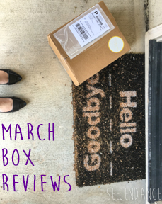 SeeJenDance - March Subscription Box Reviews